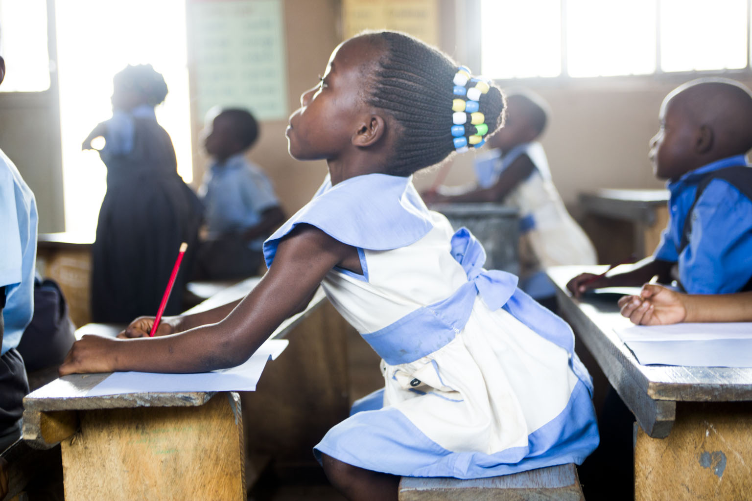 By sending a girl to school, we not only educate the next generation, but we change the world.