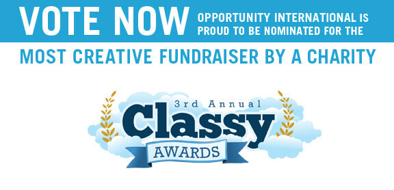 Vote for Jump for Opportunity by Friday, Aug. 26 in the Classy Awards.