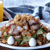 Pancit Cabagan from the Philippines.