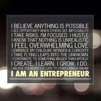 Let's hear it for the entrepreneurs of the world!