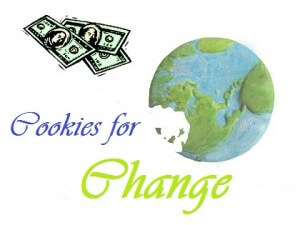 Cookies for Change fundraiser.