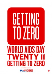 World AIDS Day 2011 Poster. (www.worldaidscampaign.org)