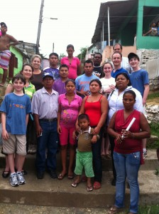 Family Week travelers with the Amigos del Progreso Trust Group in Cartagena, Colombia.