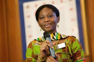 Olympic torchbearer and Opportunity-UK program manager Lydia Baffour Awuah!