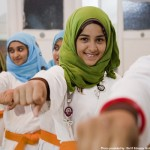 From World Vision–an all-girls karate class in Cairo with Hope Village Society, an NGO partner of UNICEF that aids Egyptian street children.