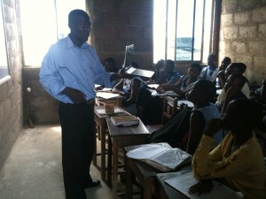 Technology course at Ahobrese Academy in Dansoman, Ghana.