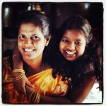 Jayanth- Opportunity Loan Officer, with her daughter Lavanya in Chennai, India