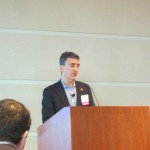 Accion CEO Michael Schlein in the morning keynote.