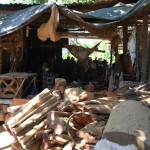 Another view of Francisco and Fidel Aleman's Workshop in Nicaragua