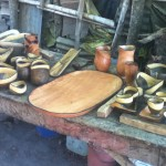 Products created by Francisco and Fidel Aleman in their Workshop in Nicaragua
