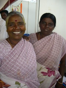 Two of Opportunity's women clients from Chennai (International Women's Day, March 2011).