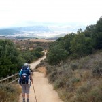 Ann Loar Brooks on El Camino de Santiago.