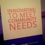 Innovating to meet community needs.