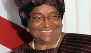 "2011 Nobel Peace Prize Laureate Ellen Johnson Sirleaf, President of Liberia, during a state visit to Brazil, April 2010. (Photo credit: ""Ellen Johnson Sirleaf - Photo Gallery"". Nobelprize.org. 10 Oct 2011)"