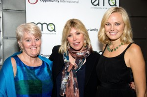 From left: Geralyn Sheehan (Opportunity Nicaragua), Debbie Levin (EMA) & Malin at October's event.