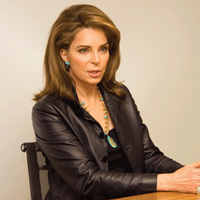 Queen Noor of Jordan is an outspoken voice on issues of world peace and justice.