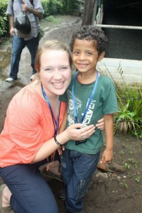 Diego, a little boy I met In El Salvador.