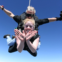 In February 2011, 29 young professionals jumped out of a plane to raise funds and awareness for Opportunity.