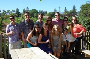 YAO – San Francisco's Ambassador Training and winery tour in August.
