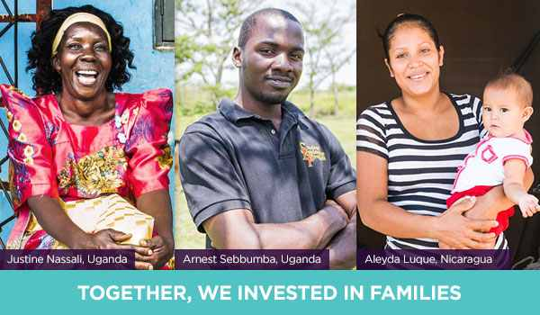 Together, We Invested in Families